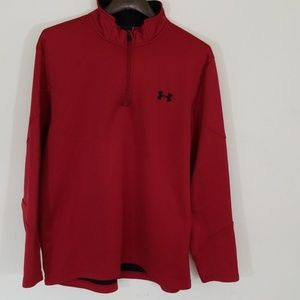 Under Armour Pullover 1/4 Zip Top, Size: Large